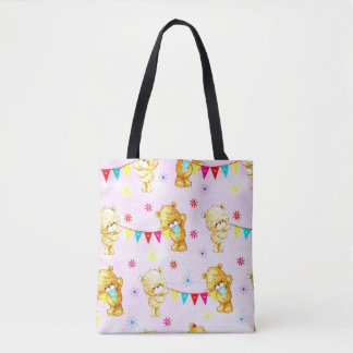 Cute babies Teddies Tote bag