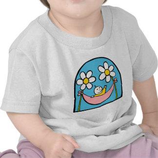 Cute Baby and Daisies Tee Shirts