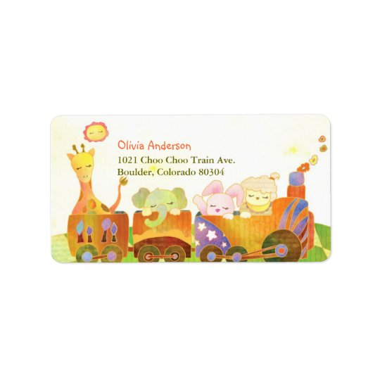 Cute Baby Animals Personal/Business Address Label