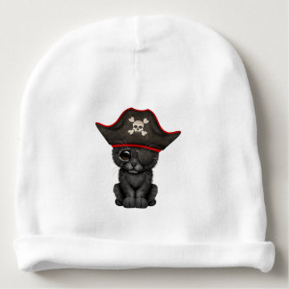 Cute Baby Black Panther Cub Pirate Baby Beanie