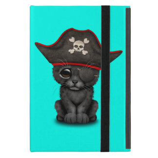 Cute Baby Black Panther Cub Pirate Case For iPad Mini