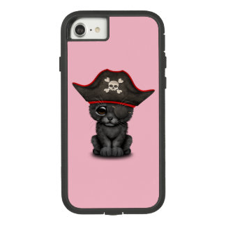 Cute Baby Black Panther Cub Pirate Case-Mate Tough Extreme iPhone 8/7 Case