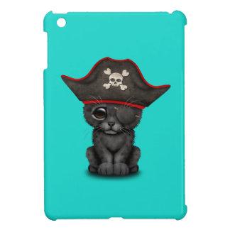 Cute Baby Black Panther Cub Pirate iPad Mini Cover