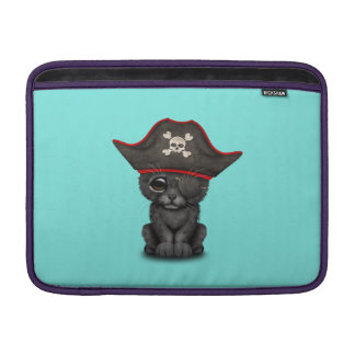 Cute Baby Black Panther Cub Pirate Sleeve For MacBook Air