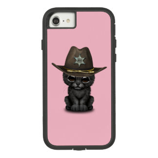 Cute Baby Black Panther Cub Sheriff Case-Mate Tough Extreme iPhone 8/7 Case