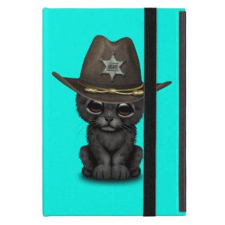 Cute Baby Black Panther Cub Sheriff iPad Mini Cover