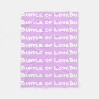 "Cute Baby Blankets Adorable ""Bundle of Love"""