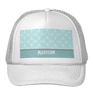 Cute Baby Blue Circles Mesh Hats