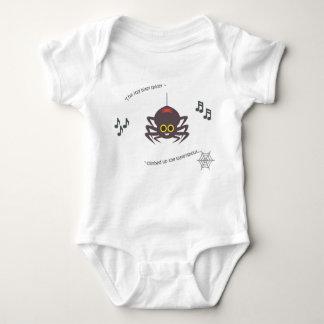 Cute baby bodysuit nursery rhyme itsy bitsy spider