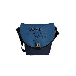 Cute Baby Boy Blue Diaper Bag Courier Bag