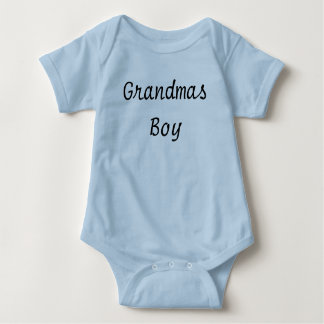 cute baby boy clothes Grandmas boy Infant outfit Baby Bodysuit