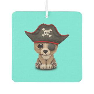 Cute Baby Brown Bear Cub Pirate