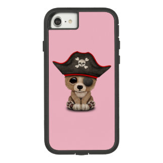 Cute Baby Brown Bear Cub Pirate Case-Mate Tough Extreme iPhone 8/7 Case