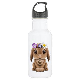 Cute Baby Bunny Hippie 532 Ml Water Bottle