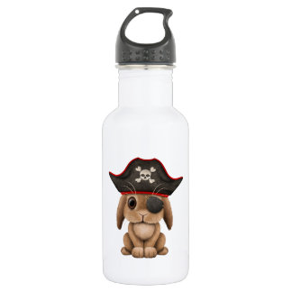 Cute Baby Bunny Pirate 532 Ml Water Bottle