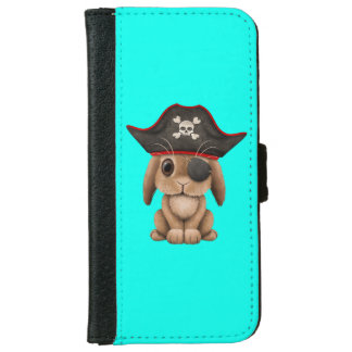 Cute Baby Bunny Pirate iPhone 6 Wallet Case