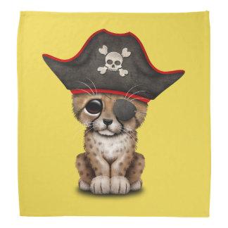 Cute Baby Cheetah Cub Pirate Bandana