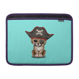 Cute Baby Cheetah Cub Pirate Sleeve For MacBook Air