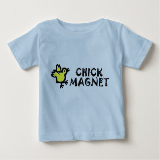 Cute Baby Chicken CHICK MAGNET Baby T-Shirt