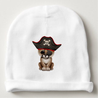 Cute Baby Cougar Cub Pirate Baby Beanie