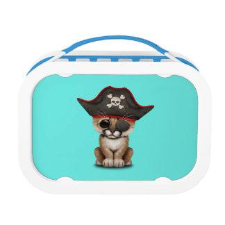 Cute Baby Cougar Cub Pirate Lunch Box