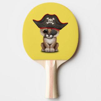 Cute Baby Cougar Cub Pirate Ping Pong Paddle