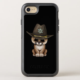Cute Baby Cougar Cub Sheriff OtterBox Symmetry iPhone 8/7 Case