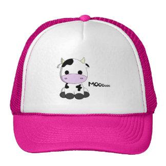 Cute baby cow cartoon cap