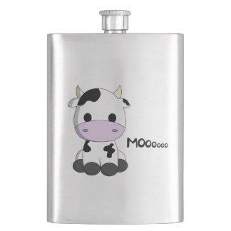 Cute baby cow cartoon kids flasks