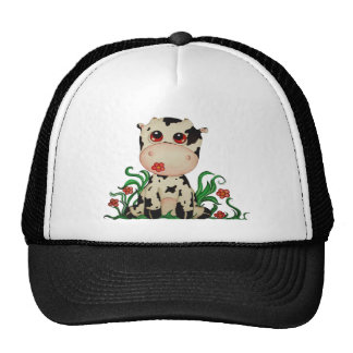 Cute Baby Cow Hat