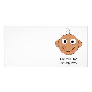 Cute Baby. Custom Text. Photo Card