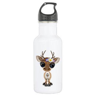 Cute Baby Deer Hippie 532 Ml Water Bottle