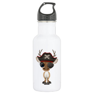Cute Baby Deer Pirate 532 Ml Water Bottle