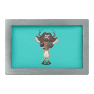 Cute Baby Deer Pirate Belt Buckle