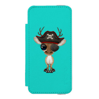 Cute Baby Deer Pirate Incipio Watson™ iPhone 5 Wallet Case