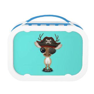 Cute Baby Deer Pirate Lunch Box