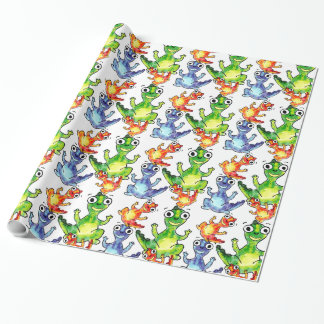 Cute baby dinosaurs doodle picture
