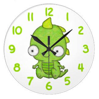 Cute Baby Dragon Wall Clocks
