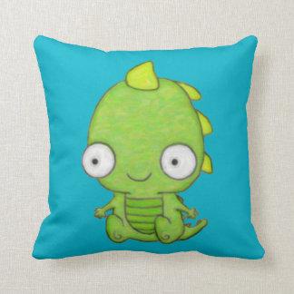 Cute Baby Dragon Throw Cushions