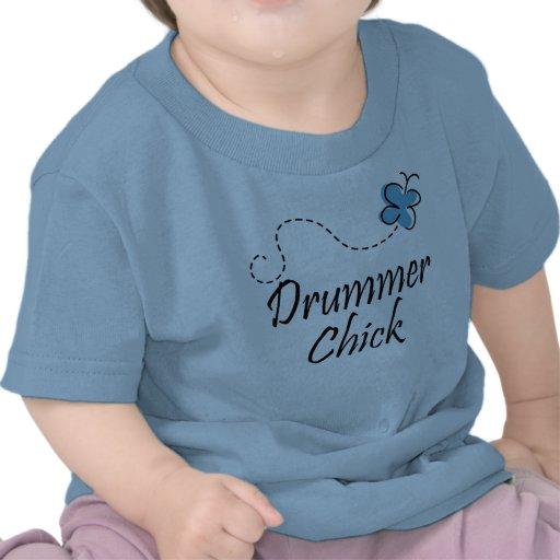 Cute Baby Drummer Chick T-shirt