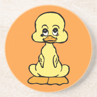Cute Baby Duck Drink Coasters