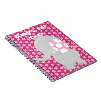 Cute Baby Elephant for Girl Notebook