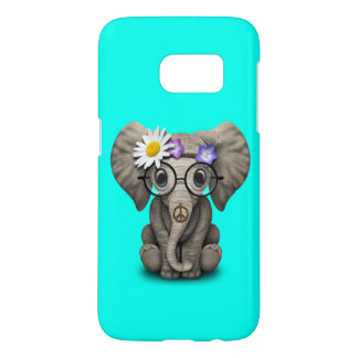 Cute Baby Elephant Hippie