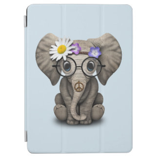 Cute Baby Elephant Hippie iPad Air Cover
