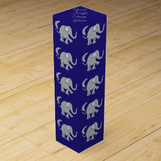 Cute Baby Elephant Imsomnia Sleep Elixir Wine Gift Box