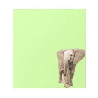 Cute Baby Elephant Notepad