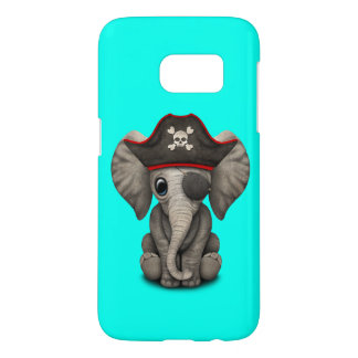 Cute Baby Elephant Pirate