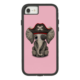 Cute Baby Elephant Pirate Case-Mate Tough Extreme iPhone 8/7 Case