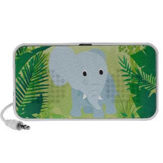 Cute Baby Elephant Portable Speaker