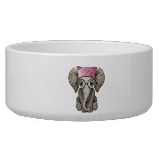 Cute Baby Elephant Wearing Pussy Hat